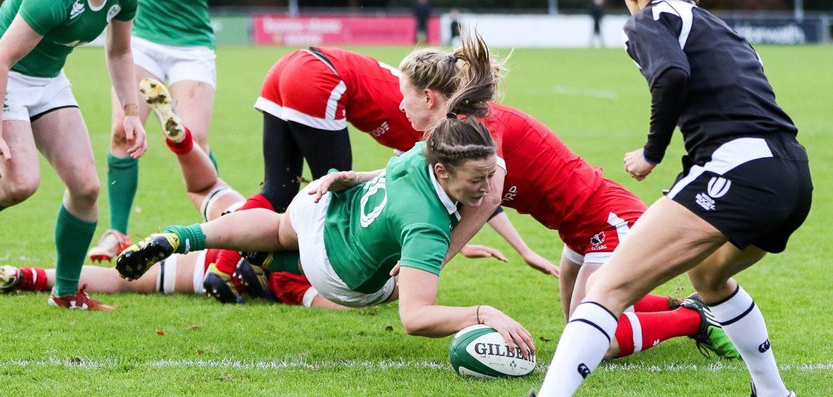 Women: Ireland 7 Canada 48