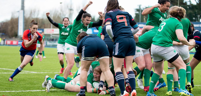 Ireland Women make it three from three.