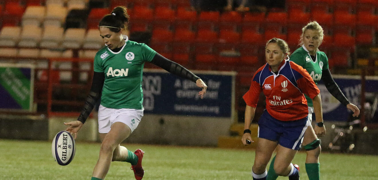 Ireland Women stay top with another bonus point raid!