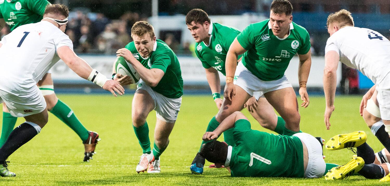 Ireland U20 come up short against England