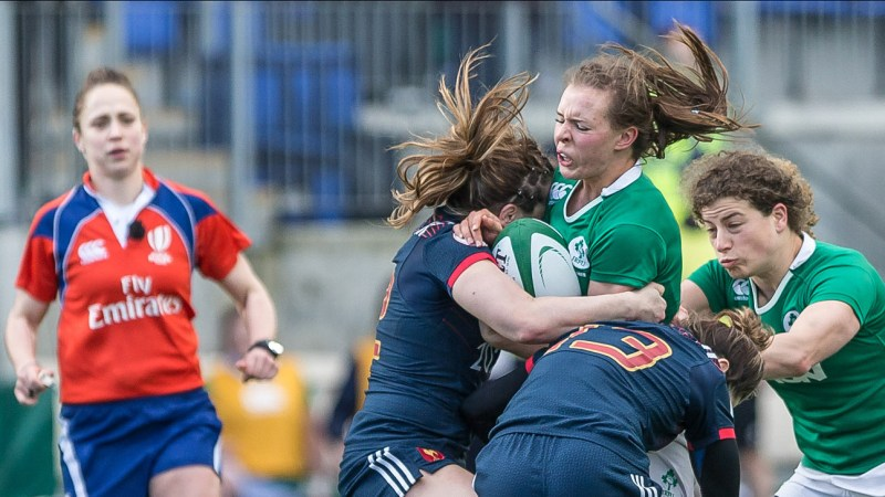 Claire McLaughlin. Ireland Women Rugby