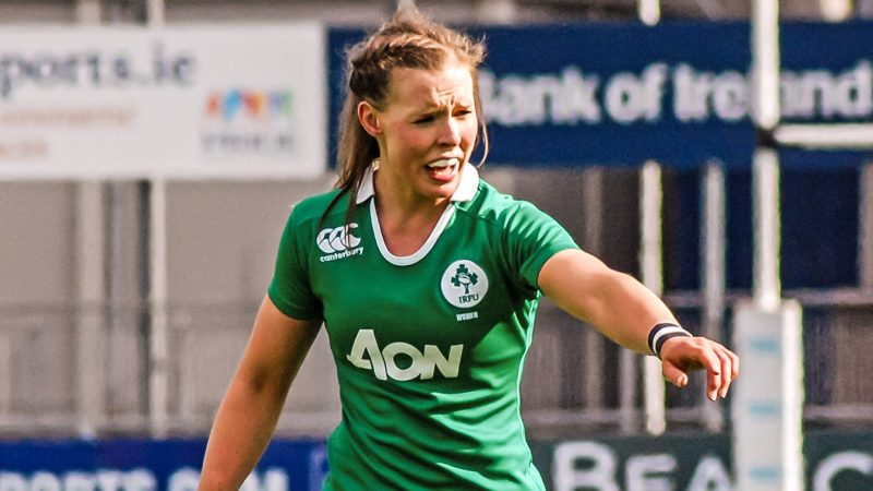 Claire McLaughlin, Ireland Women Rugby
