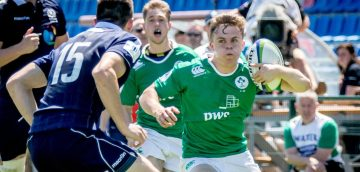 Ireland U20's announced for French opener.