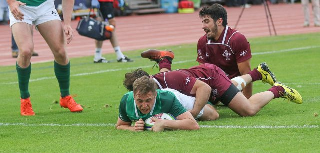 U20 World Championship: Ireland 20 Georgia 24