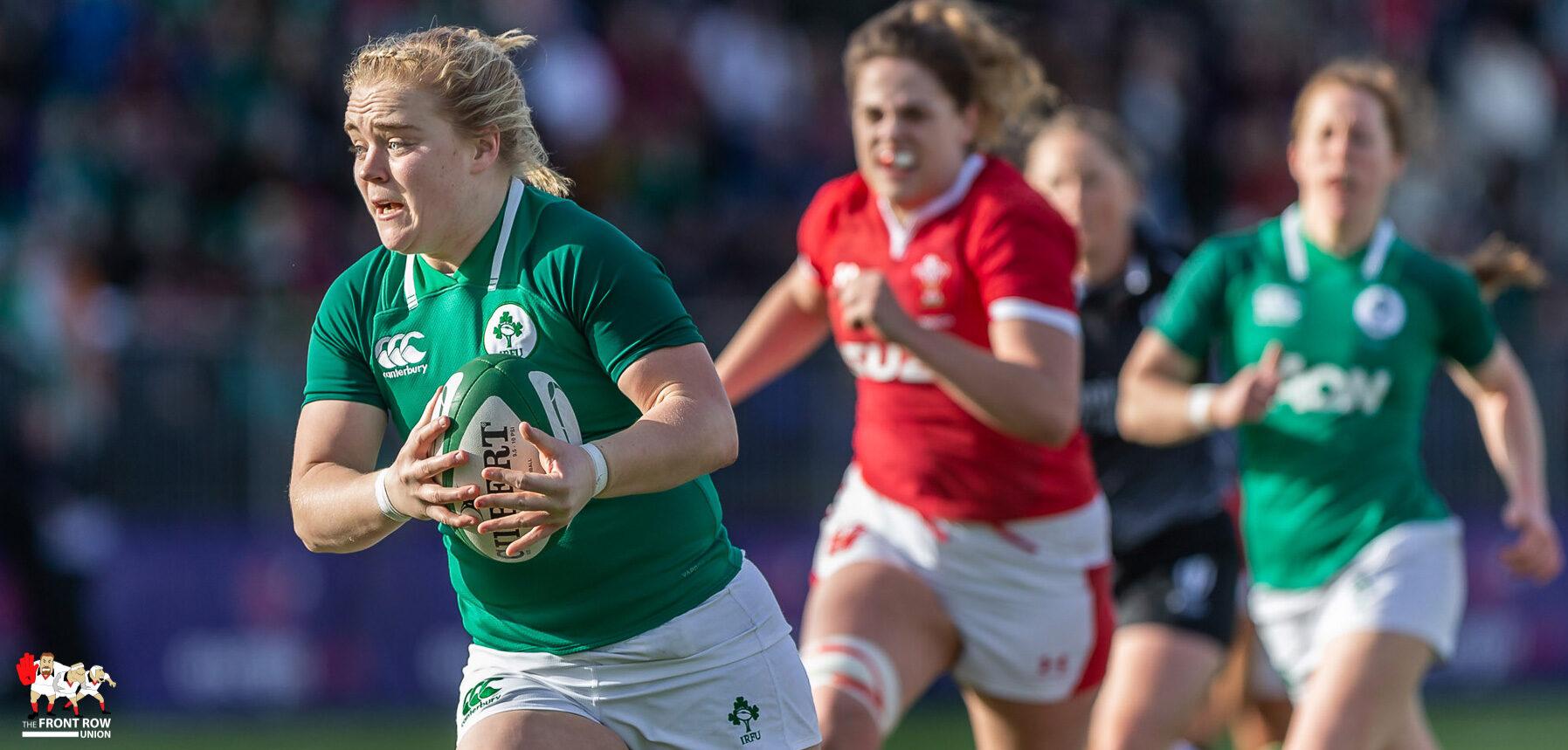 Women Six Nations. Ireland 31 Wales 12.