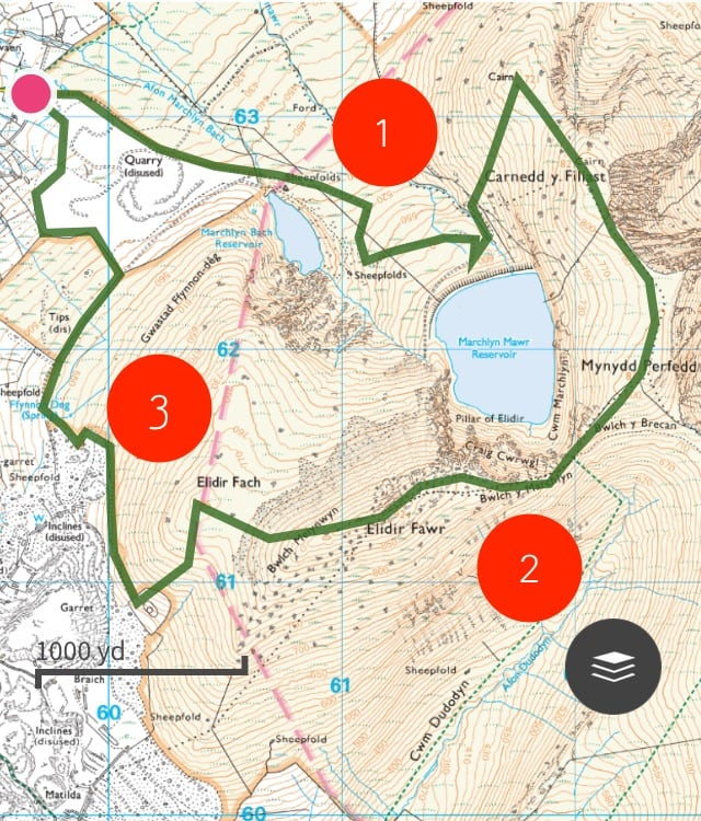 Marchlyn Mawr Trail Route 01 | Snowdonia | thefrozendivide
