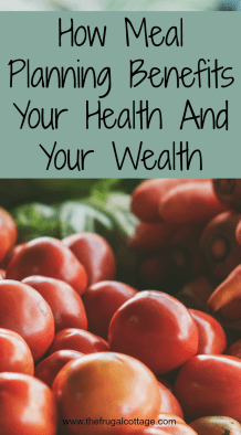 Meal Planning Health Wealth