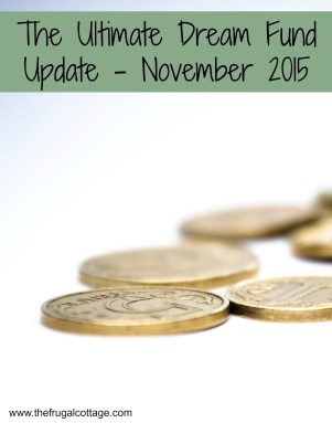 The Ultimate Dream Fund Update - November 2015