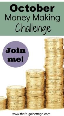 October Money Making Challenge