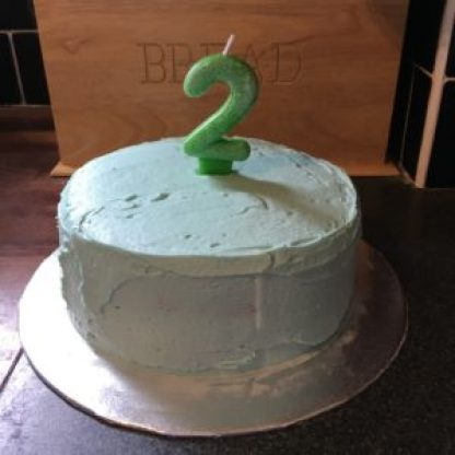 Frugal Birthday Cake