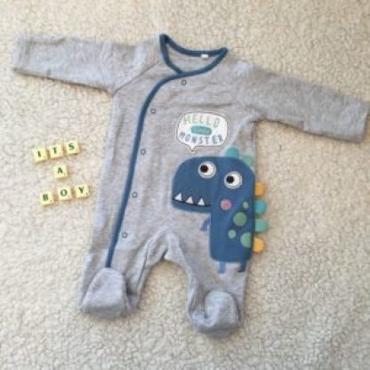 Frugal Baby Announcement