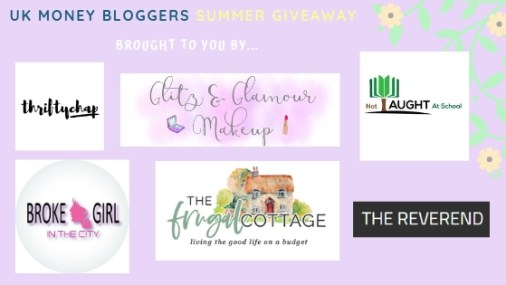 The UK Money Bloggers Summer Giveaway Is Here! - The Frugal Cottage
