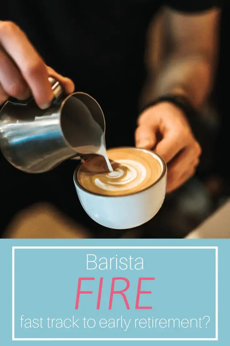 Barista FIRE means being semi-retired but still working part-time, primarily to receive benefits.