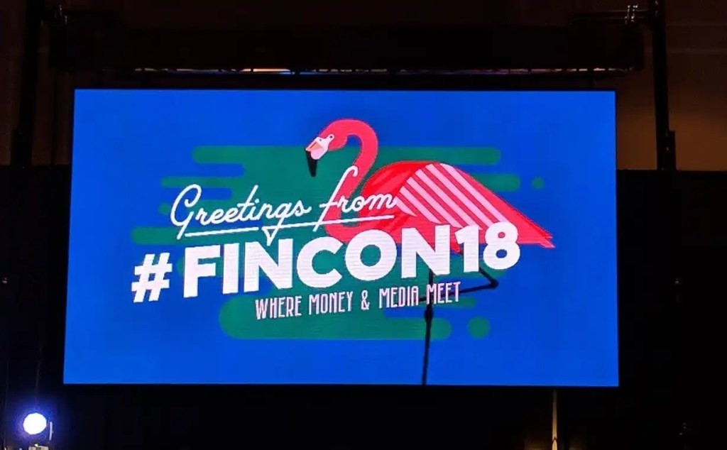 2018 was the first year I attended FinCon!