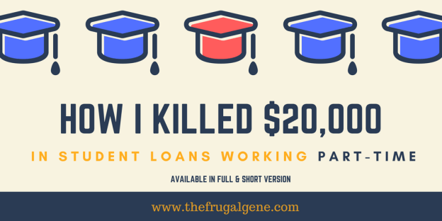 The full story of how I paid off my student loans working part-time in just 8 months! I vowed to never dance with the debt devil ever again.