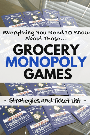 how to Play Grocery monopoly games win safeway albertsons mcdonalds