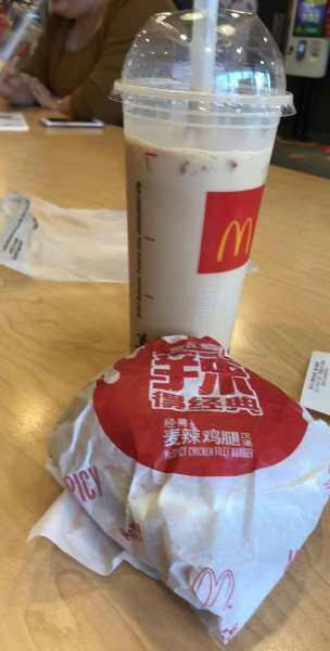chinese mcdonalds bubble tea