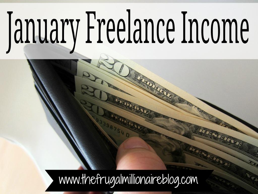 january freelance income