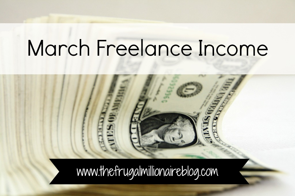 March freelance income