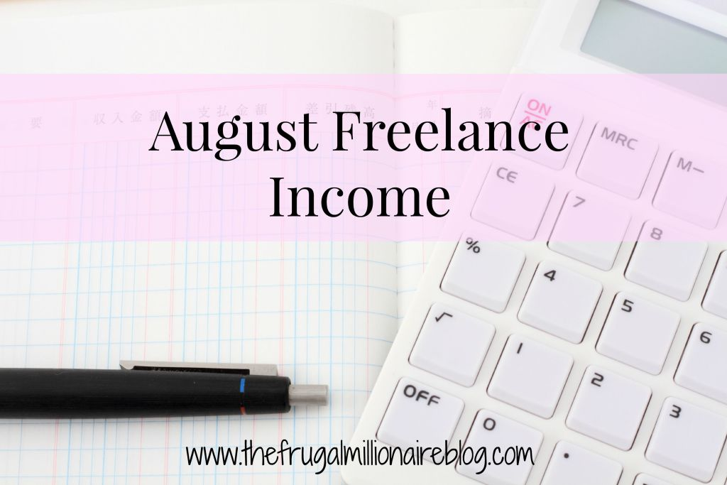 August freelance income