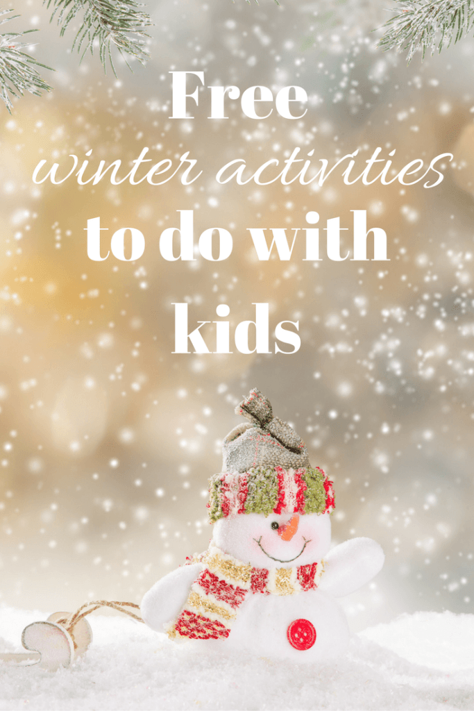 Free winter activities to do with kids! Check out all of my ideas to keep your kids busy this winter so no one (including you!) goes stir crazy.