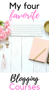 The best blogging courses currently available! These four courses will transform your blog.