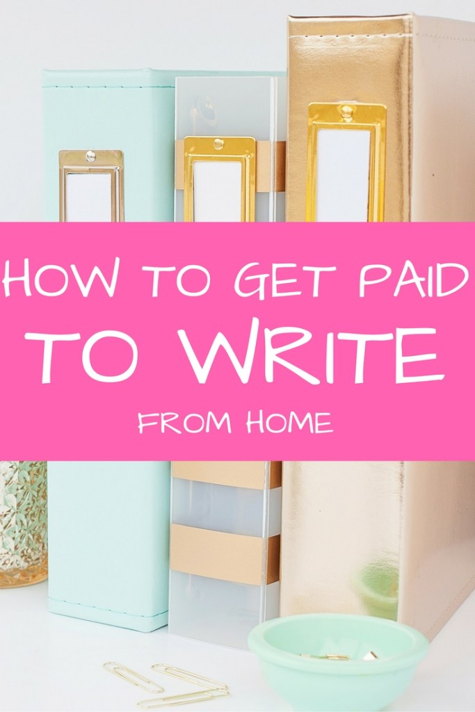 Ready to get paid to write from home?! Here, I'm sharing two ways to get started with your freelance writing career. Let me help you bring in an income for your family from the comfort of your own home!