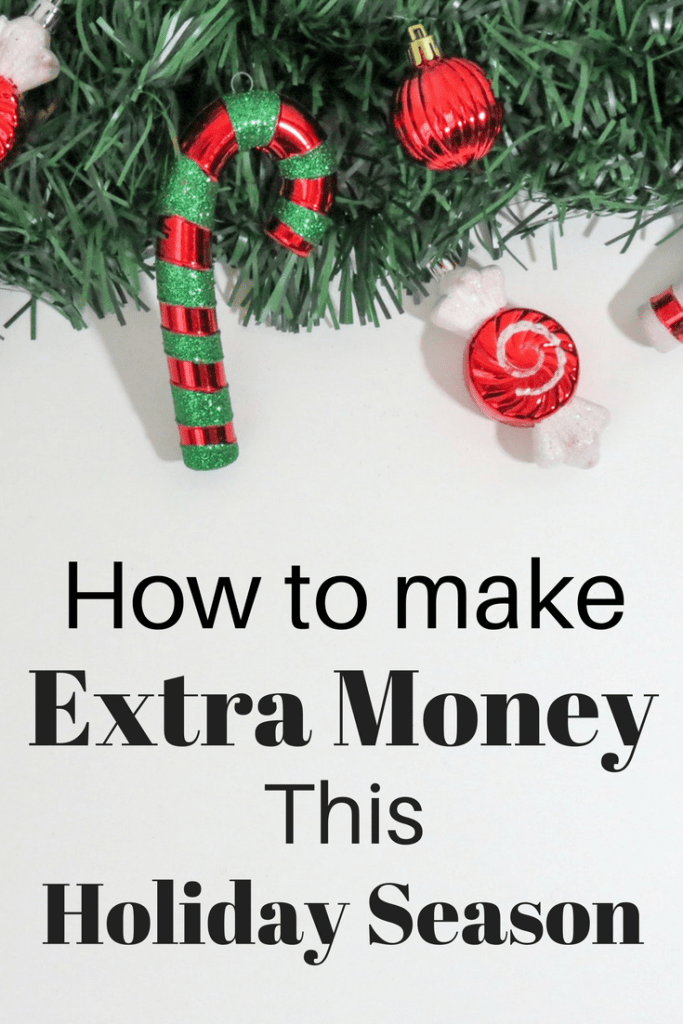 Easy ways to make extra money this holiday season! Get started now and have a fully-funded Christmas account!