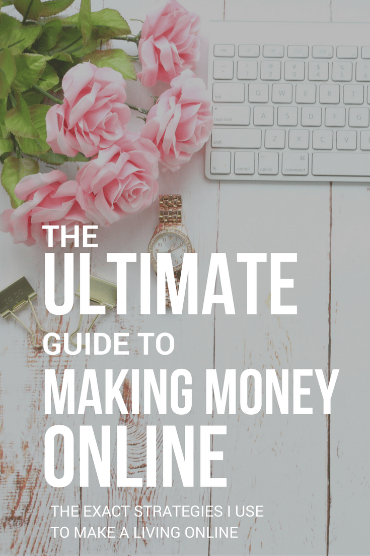 Ultimate Guide to Making Money Online - the frugal millionaire
