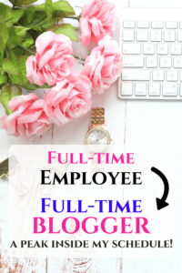 How I went from full-time employee to full-time blogger! And a peak inside a day in my life blogging with little kids at home!