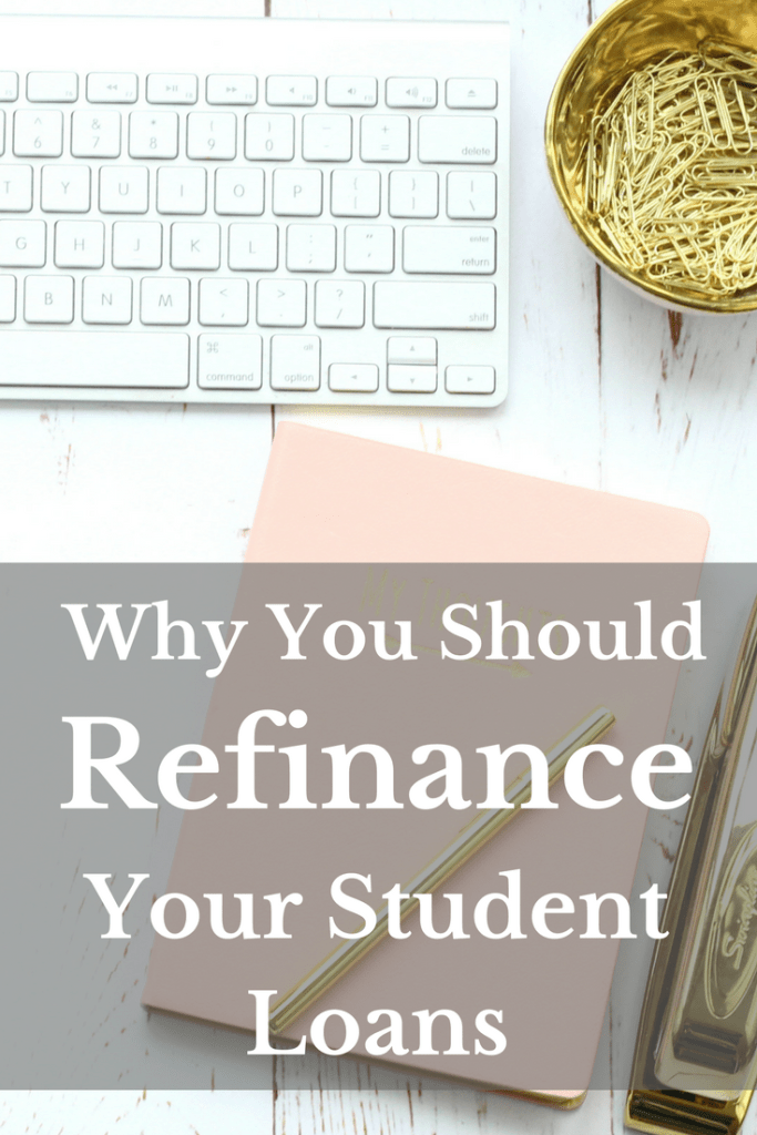 Save money on your student loans by refinancing! Here are four reasons to refinance your student loans today!