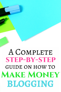 How to make money blogging. Here is your step-by-step guide showing you exactly how to go from zero to thousands of dollars per month from blogging!