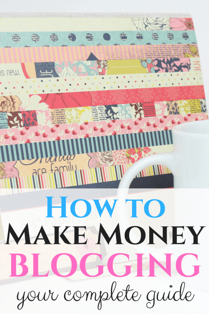 How to make money blogging. Earn thousands of dollars each month from home through your blog!