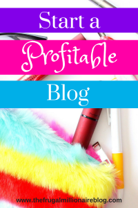 Ready to start a profitable blog?! This is everything you need to know to get started - choosing a profitable niche, picking the right domain name, learning how to grow and monetize, and more! #startablog #blog #blogging #makemoneyblogging