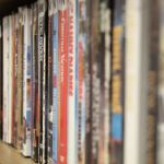 DVDs at library