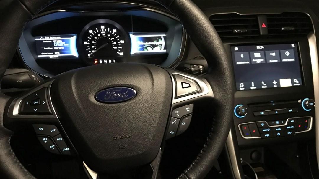 Ford Fusion Hybrid dashboard