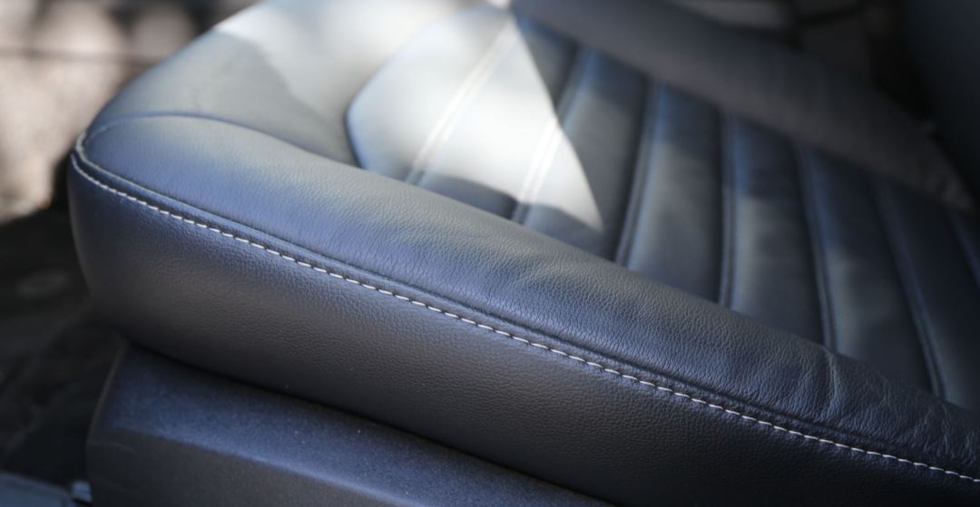 Ford Fusion leather interior