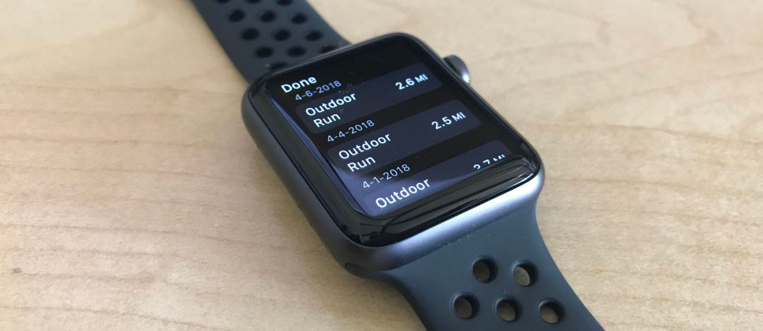 Strava on the Apple Watch