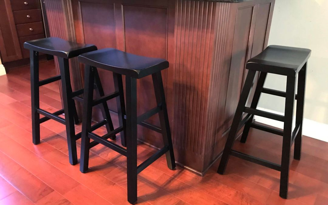 Saddle-Seat Barstools Provide Modern Style in Tight Spaces