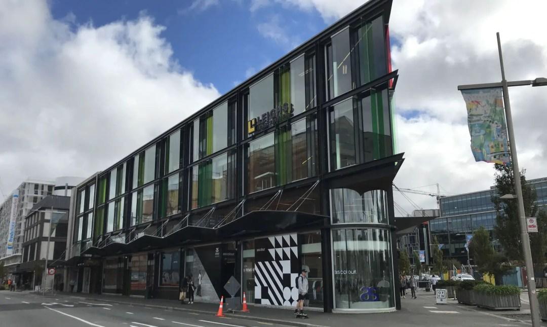 The Retail Precinct in Christchurch, NZ