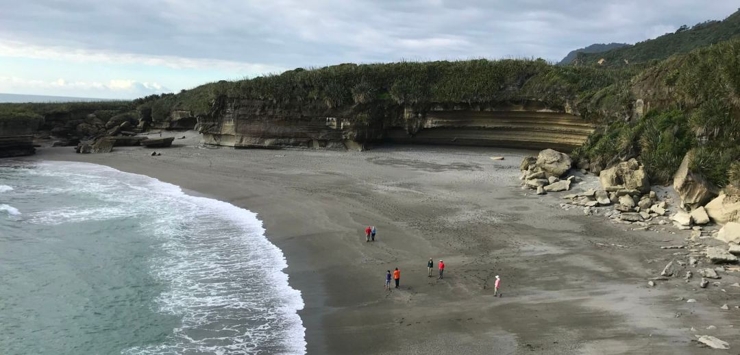 Beach in Punakaiki