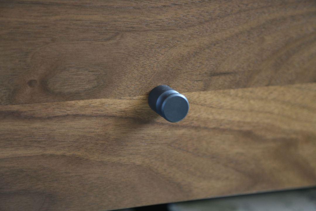 Room & Board steel drawer knobs