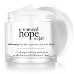 Free sample of philosophy renewed hope in a jar