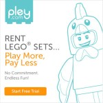 Pley.com: Rent LEGO sets – First set free for new members!
