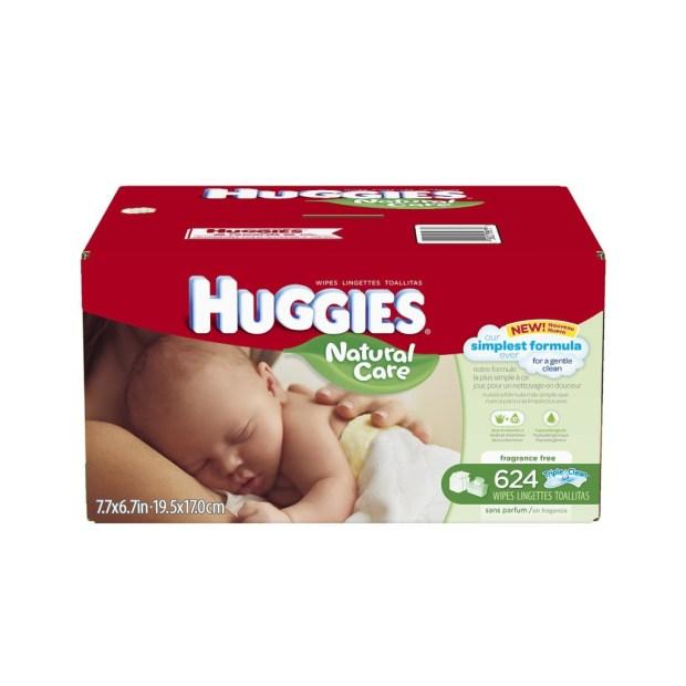 huggie wipes