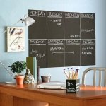 6 Ft. Chalkboard or Whiteboard Wall Decal only $7.99 shipped