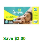 Amazon: New $3 off Pampers Coupon