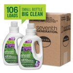 Amazon: Seventh Generation Concentrated Liquid Laundry Detergent 80 oz. as low as $6.63 each
