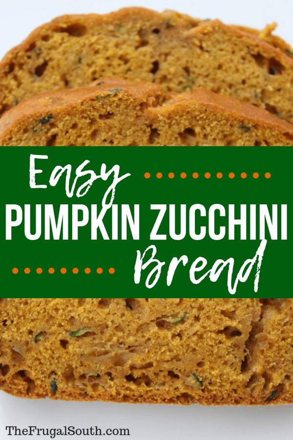 Easy Pumpkin Zucchini Bread