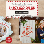 Shutterfly: $20 off $20 Purchase – Just Pay Shipping on Greeting Cards and more
